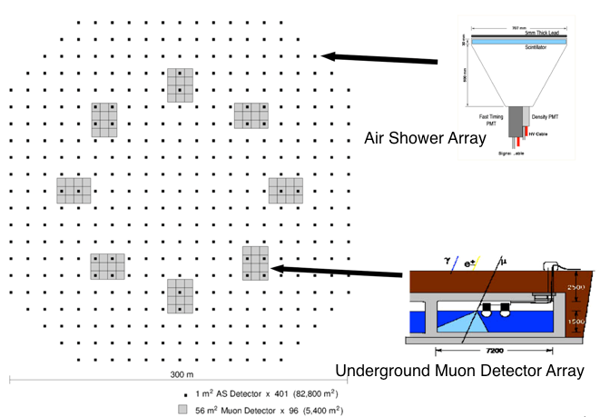 Alpaca Experiment Air Shower Array